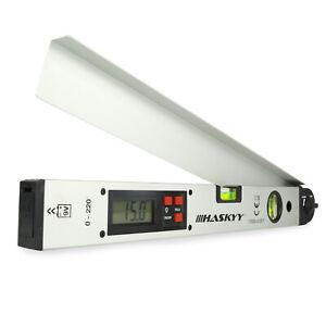 HASKYY® digitaler LCD 0-230° Winkelmesser 450mm Wasserwaage Gradmesser