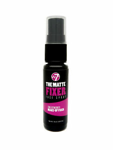 W7 The Matte Fixer Face Spray Make up Fixing Setting Spray