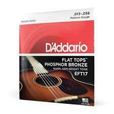 FGH EFT17 Flat Tops Phosphor Bronze Acoustic Guitar Strings, 13-56