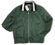 950 Bally Green Nylon Jacket Size Large, EU 52, Made in Italy