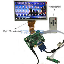 HDMI VGA AV LCD Controller Board DIY Kit Plus 7inch TFT AT070TN94 800x480 50Pi