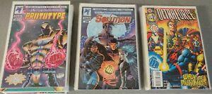 ULTRAFORCE, PROTOTYPE SOLUTION #0, 1-17 (Complete Lot)(1993 MALIBU Comics) VF/NM