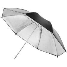 "40"" Studio Flash Black & Silver Photo Umbrella/Brolly High Quality Durable"