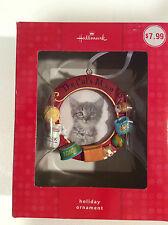 2009 Hallmark Picture Ornament Photo Holder Kitten Cat Kitty The Cats Meow