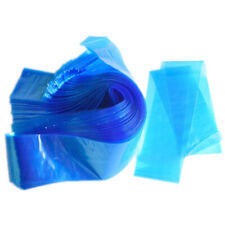 100X Tattoo Clip Cord Sleeves Disposable Blue Hygiene Machine Cover Bag UK-ME56