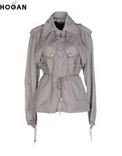 HOGAN by KARL Lagerfeld Trench Jacket Grey - UK 12 / EU 40 RRP £920