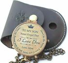 To My Son Brass Compass,Son from Dad, Gift for son, Mother Son Gift.