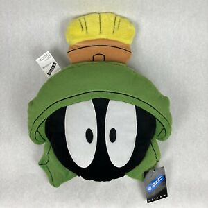 Vintage Marvin The Martian Plush Pillow, New With Tags, Warner Bros. Studio 1998