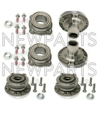 For BMW E70 F15 X6 X5 Complete Set of Front & Rear Wheel Hubs w/ Bearings