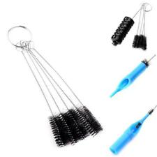 5pcs Tattoo Needle Tip Steel Brushes Set Spray Airbrush Cleaning Cleaner Tool
