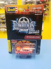 "REVELL LOWRIDER  HOTHATCH SERIES '95 HONDA CIVIC  ORANGE  ISSUE   #11  ""NEW"""