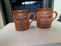 Henry Watson Tankard The Original Suffolk Tableware Terracotta Glazed Mug ......