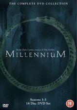 MILLENNIUM 1 - 3 (1996-1999): COMPLETE Lance Henriksen TV Series - R2 DVD not US