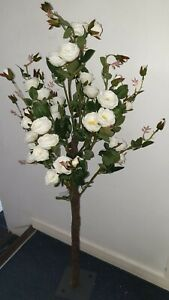 4ft artificial rose tree