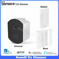 SONOFF D1 Smart WiFi Wireless Dimmer Switch Module Light Adjustment Alexa Google