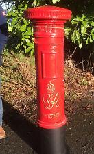 Royal Mail Gr Pilier Bureau de Poste Boite Rouge Boîte Livraison à Lettre Haut