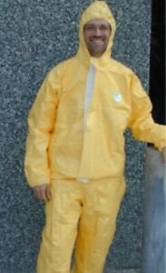 Tyvek pro tech Protective Chemical Coverall spraying  breaking bad