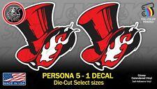 Persona 5 Logo Die-Cut Sticker Decal Car iPhone Computer PS4 XBOX