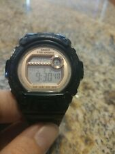 Casio Baby g shock BLX-100 womens watch Tide Graph Black Pink 3265