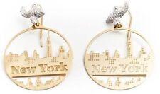 Boucles d'oreilles Misis OR08403 new york argent et or earrings femme