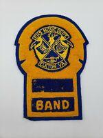 EHS Music Department Vintage Elkton VA Band Yellow Navy Patch Memorabilia