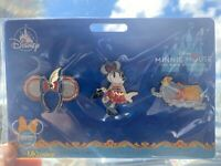 New Disney Parks Minnie Mouse The Main Attraction Pin Set Series 8 Dumbo In Hand