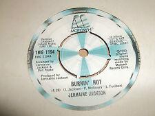 "JERMAINE JACKSON ""Intense"" Hot"" 7"" single 1980 Excellent MOTOWN TMG 1194"