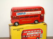 London Routemaster Bus Uniflo Motor Oil - Budgie Toys 236 England in Box *35004