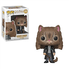 "HARRY POTTER - HERMIONE GRANGER AS CAT 3.75"" POP VINYL FIGURE FUNKO 77"