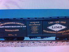Usa Trains G Scale 19039 Woodside Box Car Lima Locomotive Works Rd #786