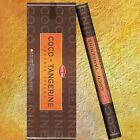 Encens NOIX de COCO-MANDARINE - (Fraîcheur et Relaxation) Encens Indien