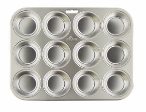 Fox Run Stainless Steel 12-Cavity Muffin Pan