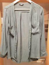Damen Damenbluse Top Bluse Größe S Grün