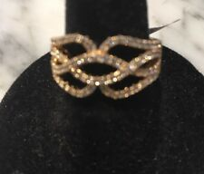 Desiger inspired  CZ  RING !  6 Gift Get the look for less!
