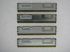 16GB KIT 4x4GB 2Rx4 PC2-5300F Ecc Fully FB-DIMM 240pin Server Memory RAM