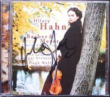 Hilary HAHN Signiert Samuel BARBER Edgar MEYER Violinkonzerte CD Violin Concerto
