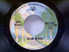 """GARY WRIGHT """"DREAM WEAVER / LET IT OUT"""" 45"""
