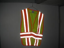FIRE/EMS/LAW/ROAD  SAFETY VEST -4 SEASON LIME YELLOW  2XL-4XL