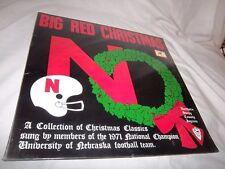 NEBRASKA UNIVERSITY 1971 CHAMPION FOOTBALL TEAM-BIG RED CHRISTMAS-RARE SEALED LP