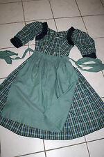 Kl3000 @ bávara + delantal @ Helene Straßer @ Trachten vestido @ vintage dress 36