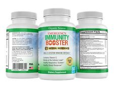 PURE Immune System Booster Support w/ Vitamin C, Selenium, over 20 Ingredients