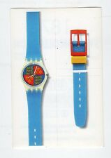 figurina - SWATCH COLLECTION MASTERS EDIZIONI - numero 187