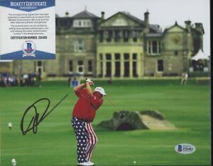 John Daly PGA British Open Signed 8x10 Photo AUTO Autograph Beckett BAS COA