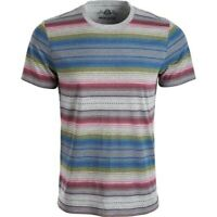 American Rag Men's Crew Neck Blanket Stripe T-Shirt (Multicolor, M)