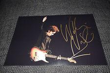 Willie Nile signed autographe sur 20x30 cm photo inperson Look