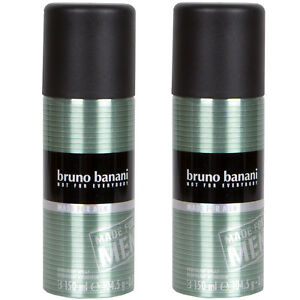 Bruno Banani D'Urgence Pour Everybody Made pour Hommes Déodorant en Spray 2 X