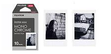 Pellicola Istantanea FujiFilm Instax Mini MONOCHROME Comp Polaroid/Diana 10 foto