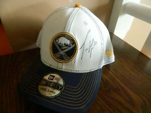 Buffalo Sabres cap HAT signed by Tyler Myers now Vancouver by New Era L/XL