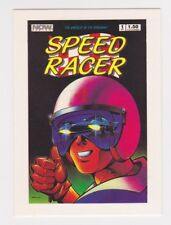 "1993 NOW COMICS ""SPEED RACER""  PROMO TRADING CARD - V/Good Condition"