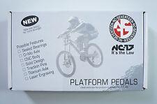 nc-17 horas I S-Pro Plataforma pedal rojo NUEVO #112
